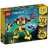 LEGO 乐高 拼插类玩具 Creator创意百变水下机器人31090 7+岁 积木玩具(3月新品)