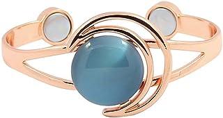 ProExl 纯铜女式磁性手链猫眼石缓解*(蓝色)