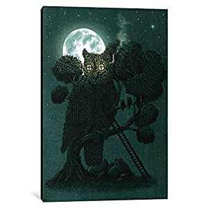 iCanvasART TFN143-1PC6-26x18 Night Watch Canvas Print by Terry Fan, 26 x 18 x 1.5-Inch