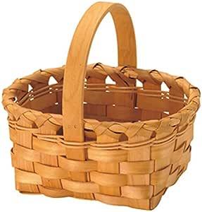 丸和贸易 篮子 天然材料 储物篮 灯饰品 棕色 Sサイズ 400597601