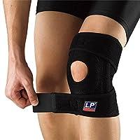 LP 美国欧比护具 护膝 733CA 双弹簧支撑型膝关节护具 膝部扭伤 拉伤黑色