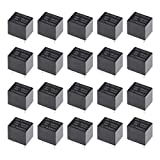 uxcell DC 12V/24V Coil SPST 4 Pin PCB 电磁继电器 24V 4 Pin 20PCS a18072000ux0153