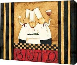 "PrintArt ""Bistro Boys ""由 Dan DiPaolo 创作画廊装裱艺术微喷油画艺术印刷品,30.48 cm x 25.4 cm"