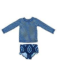 JOY 泳衣男女宝宝长袖*衣 UPF 50+ 泳装*衣