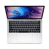 【2018新款】Apple 苹果 MacBook Pro 13英寸笔记本电脑 四核第八代Core i5处理器2.3GHz/8G/512G SSD/MR9V2CH/A 银色 苹果电脑 Multi-Touch Bar 套装版【内含罗技无线蓝牙鼠标+Chirslain清洁套装】