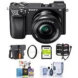 索尼(SONY) ILCE-6300L 微单套机 黑色(16-50mm镜头 a6300/a6300L)