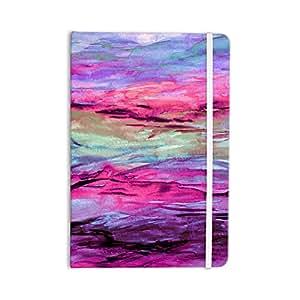 KESS InHouse Ebi Emporium 无固定 4 粉红色/薰衣草所有笔记本,20.32 x 13.97 厘米 (JD1180ANP01)