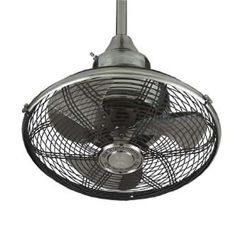 Fanimation OF110PW-220 Extraordinaire Ceiling Fan, 18-Inch, Pewter Finish