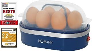 Bomann EK 5022 CB 煮蛋器 蓝色 13.8 cm l x 23 cm b x 14.6 cm h
