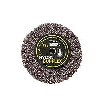 Bufflex Flap Wheel 精细磨光盘,120 中号 100 x 25 毫米