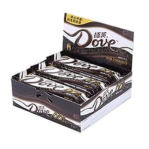 德芙浓醇66%黑巧克力43g*12