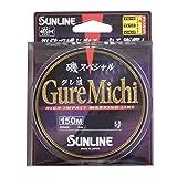 SUNLINE (SUNLINE) 尼龙线 矶景 GureMichi 150m 3号 蓝色&粉色