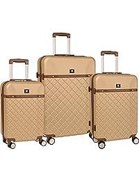 Anne Klein Greenwich Three Piece Hardside Luggage Set