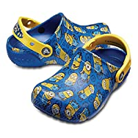 Crocs 中性童 拖鞋 Crocs FL Minions Grphic Clog K 205122-4GX