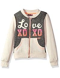 XOXO 女童羊毛飞行员夹克