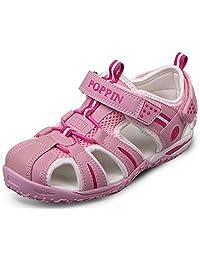 Poppin Kicks 男孩和女孩快干闭趾防水凉鞋(幼儿/小童/大童)