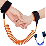 KUEN 2只装*皮肤防拉棉儿童手腕带,防丢失腰带幼儿*带儿童*牵引绳适用于儿童跑步者学前儿童(长度*大180.34 厘米)