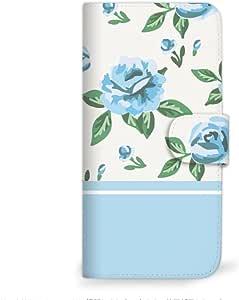 mitas 智能手机壳 手册式 玫瑰 粉彩SC-2336-BU/ZS570KL 36_ZenFone 3 Deluxe (ZS570KL) 蓝色