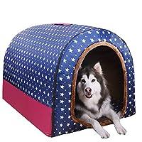宠物用品 可拆洗宠物房窝 两用窝 宠物床 猫窝 宠物垫 M