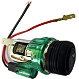 Techniks LIG01 通用照明汽车香*打火机,内置耐热陶瓷保护套,易于安装,包括所有零件