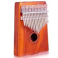 GECKO壁虎拇指钢琴便携卡林巴琴17音手指琴拇指琴十七音拇指钢琴卡林巴非乐器kalimba K17K 相思木