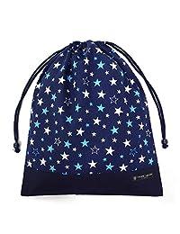 抽绳大 体操服袋 体操服 星光塑料 藏青色 N3367300