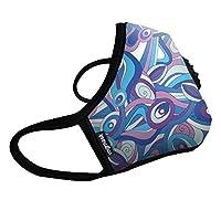 Vogmask N99CV时尚成人防雾霾 pm2.5 防尘 防过敏源 户外运动旅行口罩 Emily 1只 L号(参考体重:131-200磅/59-90公斤)(进口)