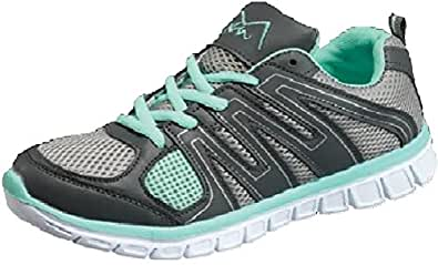 M-Air 女式网眼 Altletic Lace 运动鞋 Response Green 5 M US