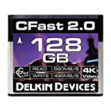 delkin 128GB 影院 cfast 2.0 *卡 (DDCFST560128) 128GB