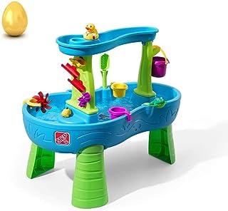 Step2 雨淋淋浴水池水桌   儿童水游戏桌 13 件套配件套装