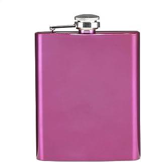 eBuyGB 带螺丝盖的随身酒壶 紫红色 13285