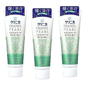 LION 日本狮王 酵素美白牙膏(鲜果薄荷)130g*3(进口)