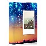 Ablus 64 口袋迷你相册适用于 Fujifilm Instax Mini 7s 8 8+ 9 25 26 50s 70 90 即时摄像机和姓名卡 sky 64 Pockets 草地