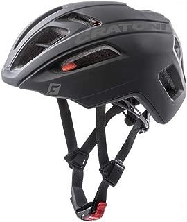 Cratoni 中性 - 成人 C-Pro 自行车头盔,黑色橡胶,M/L