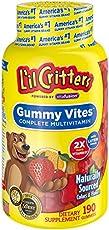 L'il Critters 小熊糖 维生素软糖 190粒 3包装