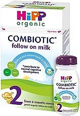 HiPP Organic 喜宝二段婴儿milk 800g(4包装)[适用年龄:6月+]