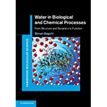Water in Biological and Chemical Processes: From Structure and Dynamics to Function (Cambridge Molecular Science) (English Edition)