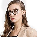 LOHO眼镜生活 女款时尚个性复古潮流圆框光学近视眼镜框镜架 2808