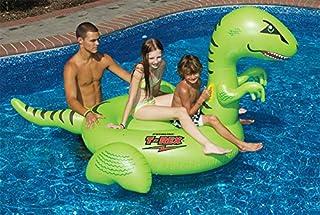 Swimline 大型动物游泳池浮标 90 x 63 x 48 绿色