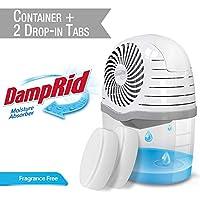 DampRid DR Drop Container + 2 FF TABS-SIOC 吸濕器,1 個尺寸,白色,15 盎司