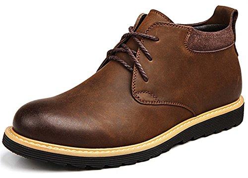 Guciheaven 英伦男士皮鞋 时尚商务休闲皮鞋 户外皮鞋 大头皮鞋 工装鞋 马丁靴 低帮男鞋JRSA609
