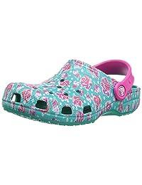 crocs ' 经典图案木底鞋