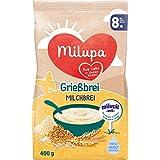 Milupa Grießbrei Miluvit mit 8 Monat, 5er Pack (5 x 400 g)