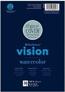 "Strathmore Vision Watercolor Pad 6""X9""-"