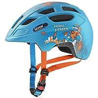 UVEX 优维斯 中性青少年 Finale jr. cc 儿童自行车头盔,蓝色,51-55