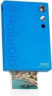 Polaroid 薄荷即时打印数码相机,Zink 印刷 2x3 粘性背衬相纸POL-SP02BL Camera 蓝色