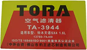 TORA 豹王空气滤清器TA-3944(铃木/天语Sx4/天语1.6L/利亚纳)