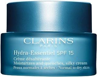 Clarins 娇韵诗 Hydra-Essentiel 丝质保湿霜 SPF 15 霜,1.7 盎司