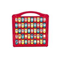 Battat 捉迷藏字母表弹出玩具 50个颜色字母数字,学步儿童的学习玩具,不含邻苯二甲酸盐和双酚基丙烷