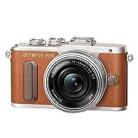 奥林巴斯Olympus E-PL8/1442EZ+40150R双镜头套机 (棕色)